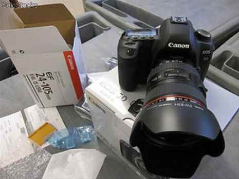 Canon EOS 5D Mark III DSLR Camera Kit with Canon 24-105mm f4L IS USM AF Lens